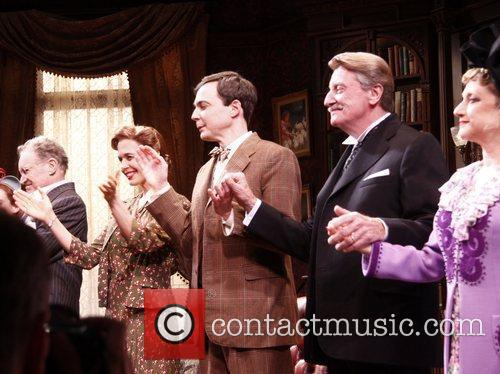 Charles Kimbrough, Carol Kane, Jessica Hecht, Jim Parsons and Larry Bryggman 2