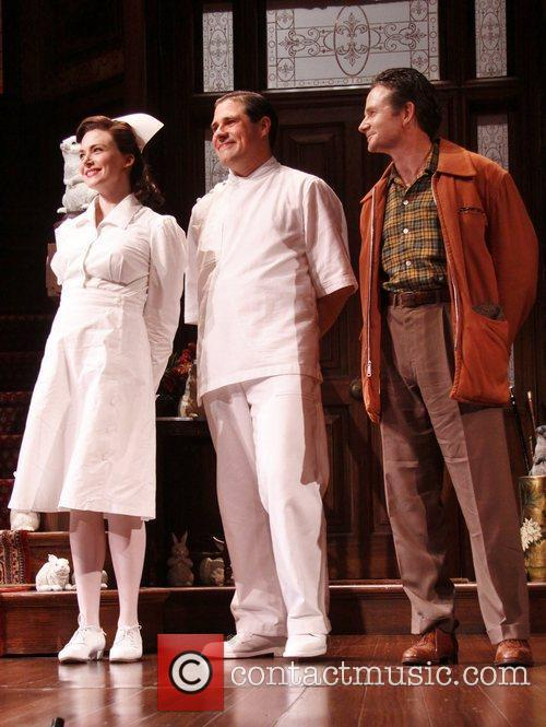 Opening night curtain call for the Broadway play...