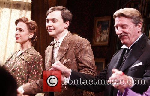 Jessica Hecht, Jim Parsons and Larry Bryggman 1