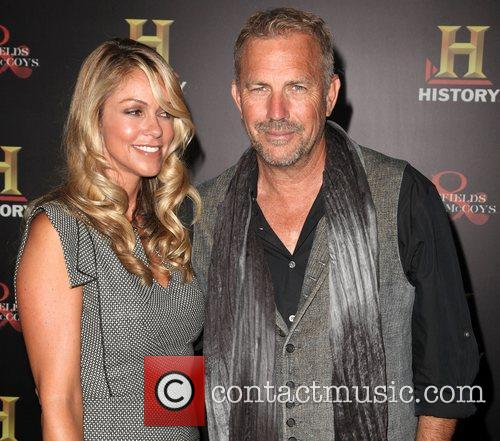 Christine Baumgartner and Kevin Costner 6