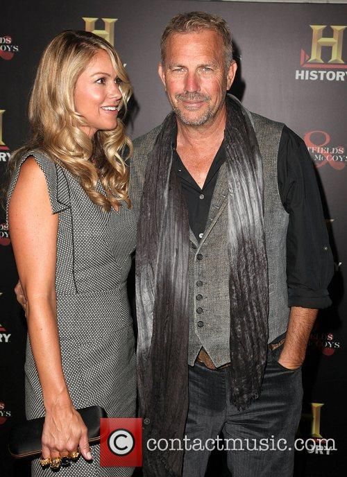 Christine Baumgartner and Kevin Costner 4