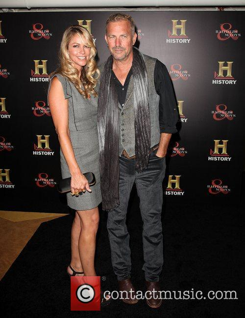 Christine Baumgartner and Kevin Costner 8
