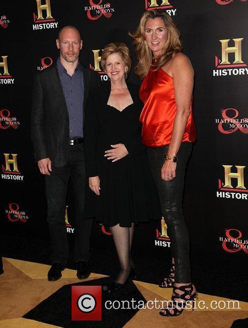 Dirk Hoogstra , Abbe Raven, and Nancy Dubuc...