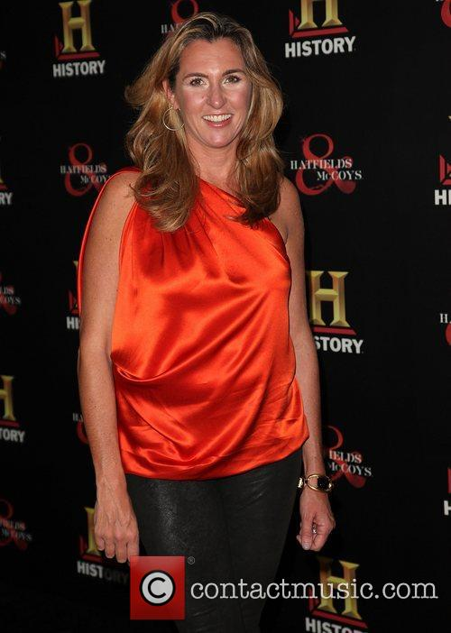 Nancy Dubuc HISTORY hosts a Pre-Emmy party at...