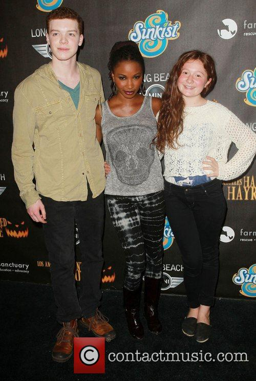 Cameron Monaghan, Shanola Hampton and Emma Kenney 6