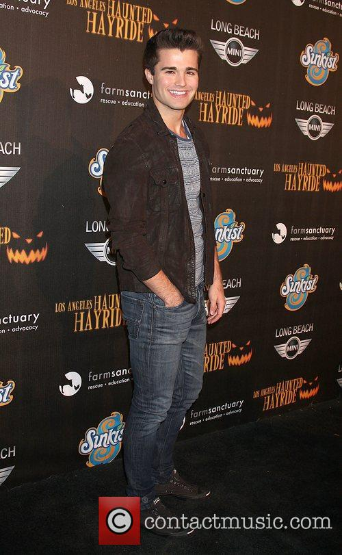 Spencer Boldman The 4th Annual Los Angeles Haunted...