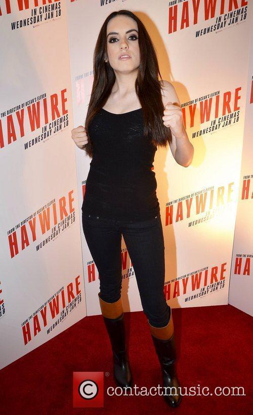 Eva Ryan  Irish Premiere of 'Haywire' at...