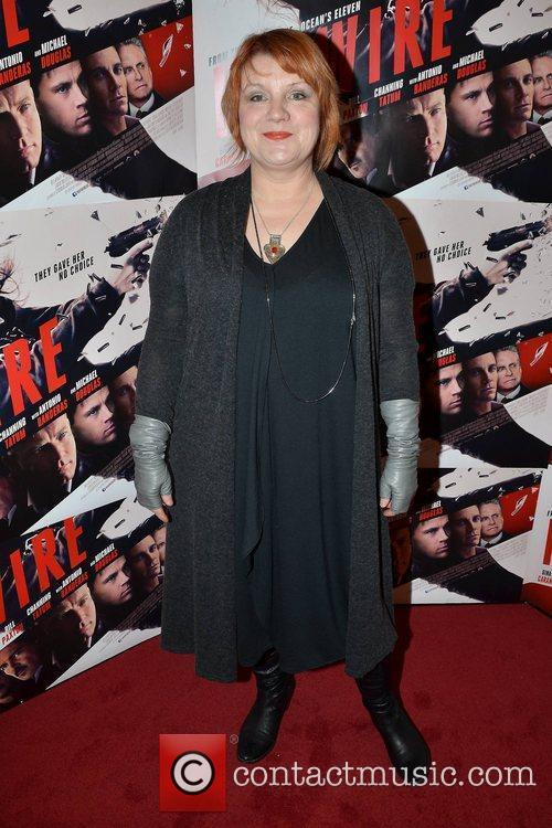 Mary McEvoy Irish Premiere of 'Haywire' at The...
