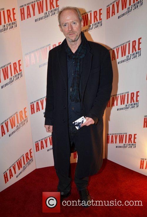 Ned Dennehy Irish Premiere of 'Haywire' at The...