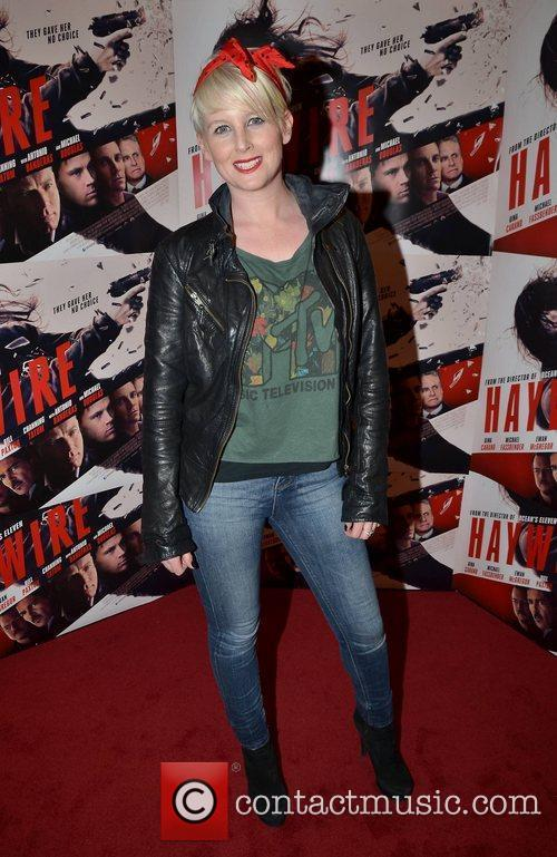 Sinead Kennedy Irish Premiere of 'Haywire' at The...