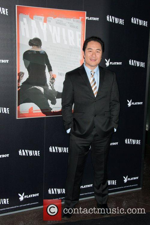 Anthony Brandon Wong 'Haywire' Los Angeles premiere at...