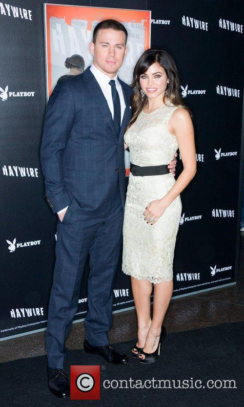 Channing Tatum and Jenna Dewan 'Haywire' Los Angeles...