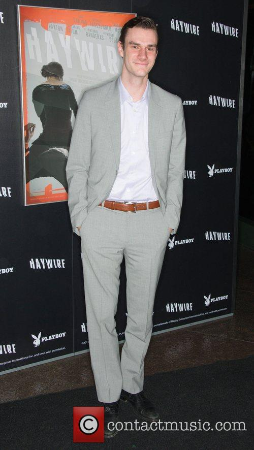 Cooper Hefner 'Haywire' Los Angeles premiere at the...