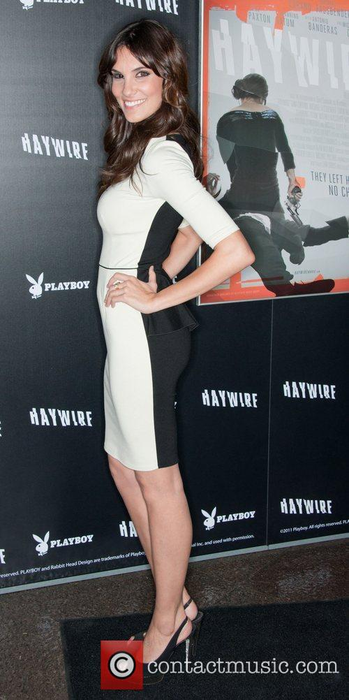 Daniela Ruah 'Haywire' Los Angeles premiere at the...