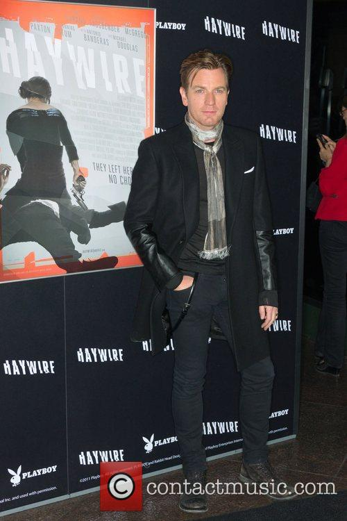 Ewan McGregor 'Haywire' Los Angeles premiere at the...