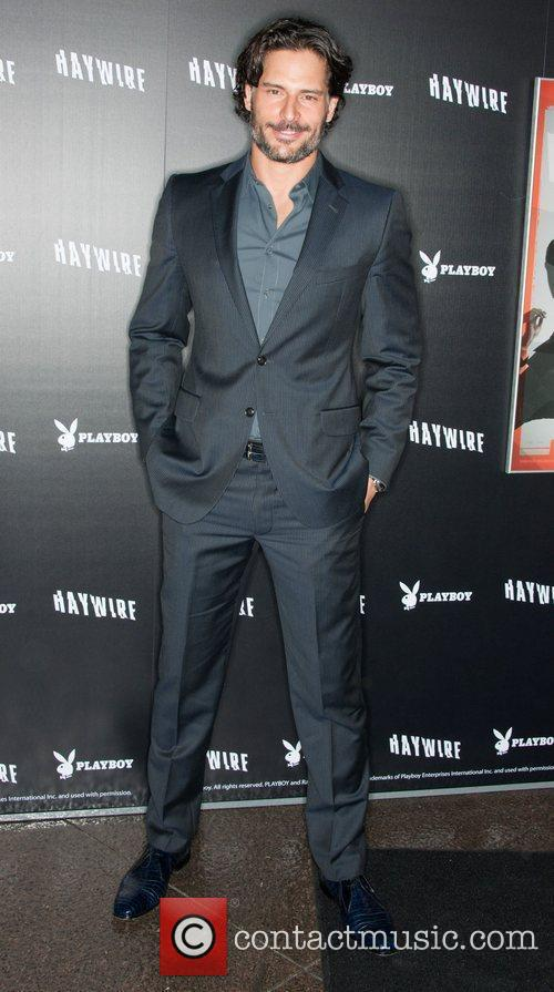 Joe Manganiello 'Haywire' Los Angeles premiere at the...