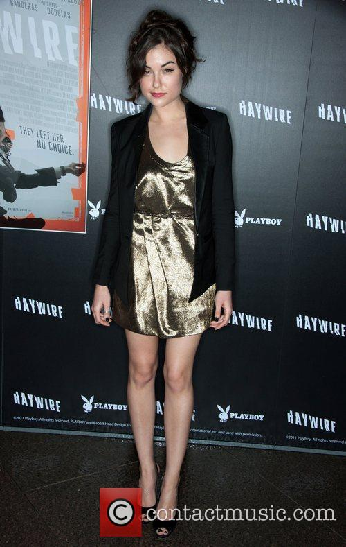 Sasha Grey 'Haywire' Los Angeles premiere at the...