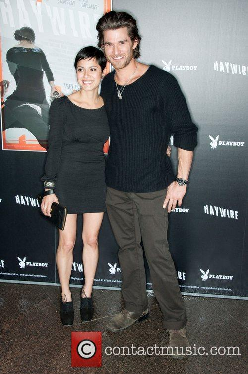 Sylvia Brindis and Johnny Whitworth 'Haywire' Los Angeles...