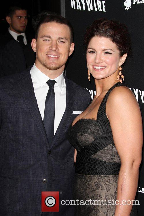 Channing Tatum and Gina Carano 'Haywire' Los Angeles...
