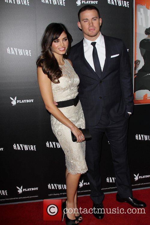 Channing Tatum, Jenna Dewan 'Haywire' Los Angeles premiere...