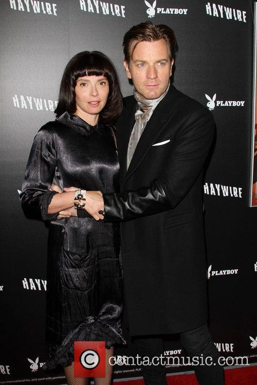 Eve Mavrakis and Ewan McGregor 'Haywire' Los Angeles...