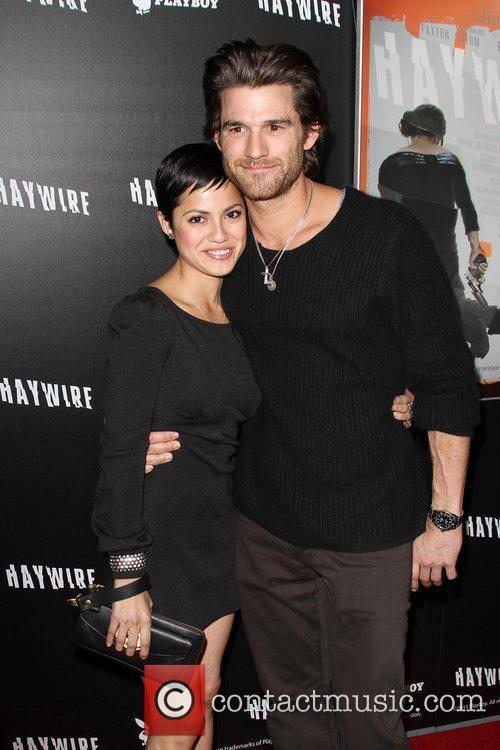 Johnny Whitworth and Sylvia Brindis 'Haywire' Los Angeles...