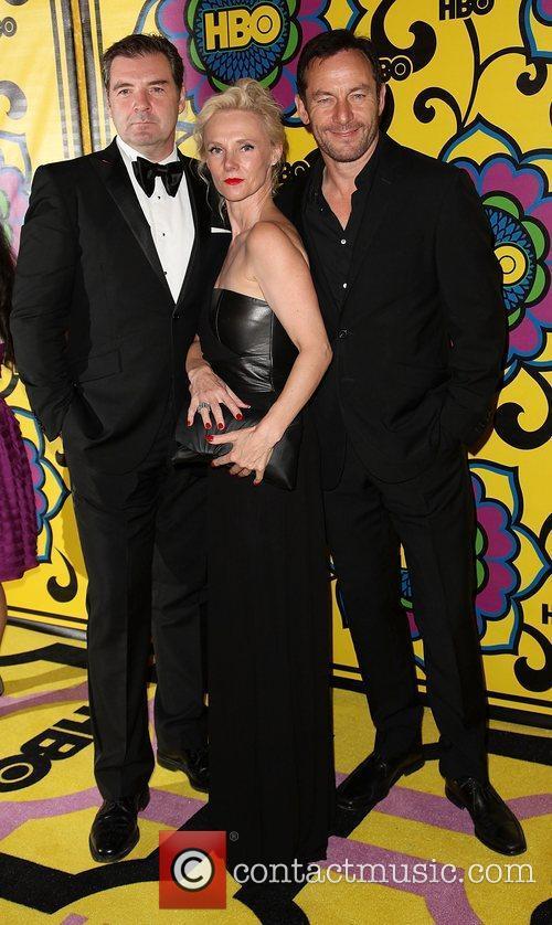 Brendan Coyle and Jason Isaacs