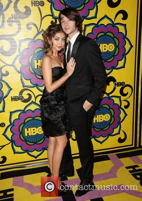 Sarah Hyland and Matt Prokop HBO's Annual Emmy...