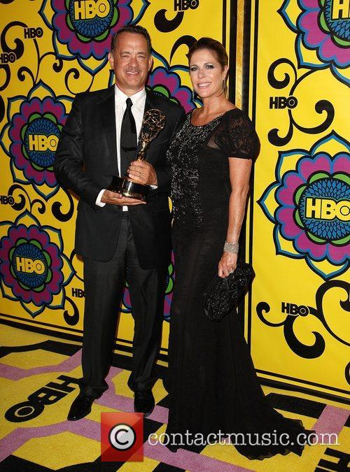 Tom Hanks, Rita Wilson and Emmy Awards 4