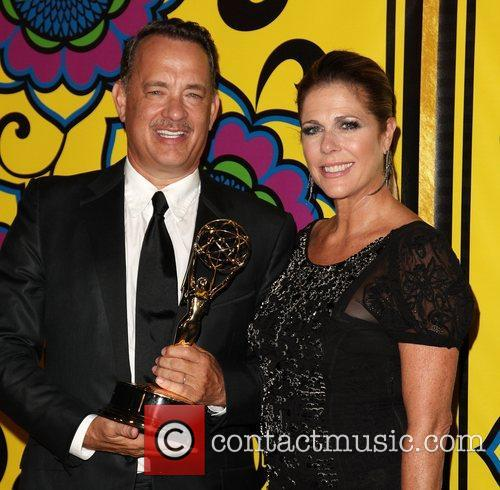 Tom Hanks, Rita Wilson and Emmy Awards 1