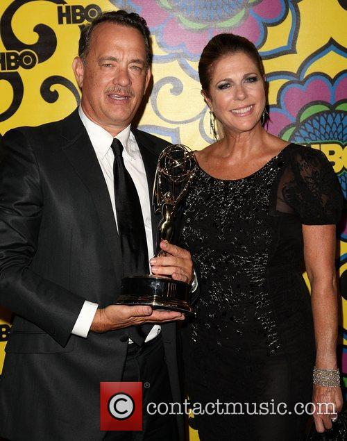Tom Hanks, Rita Wilson and Emmy Awards 2
