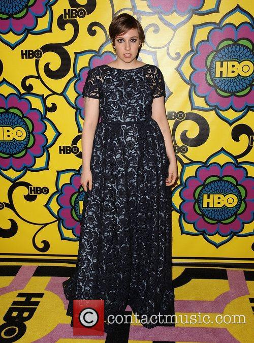 Lena Dunham and Emmy Awards 1