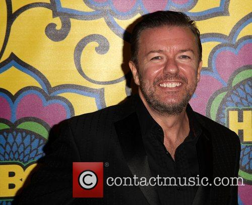 Ricky Gervais HBO's Annual Emmy Awards Post Awards...