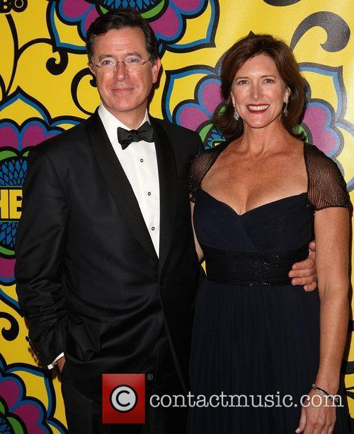 Stephen Colbert, Evelyn Mcgee-colbert and Emmy Awards