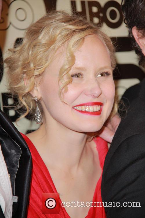 Alison Pill and Beverly Hilton Hotel 1