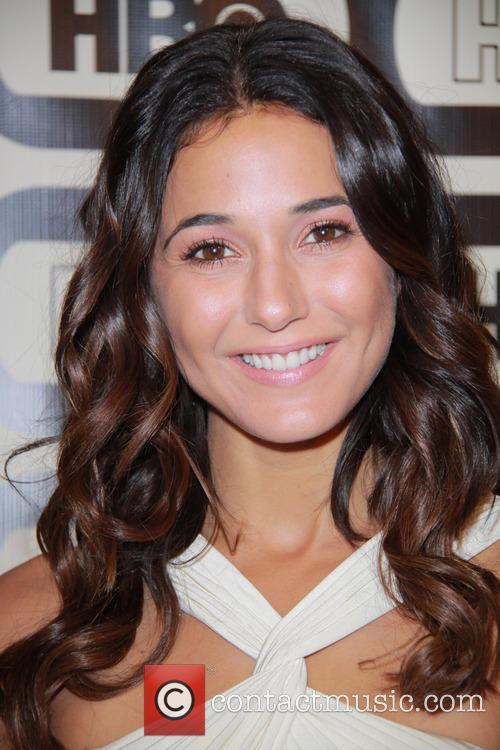 Emmanuelle Chriqui and Beverly Hilton Hotel 3