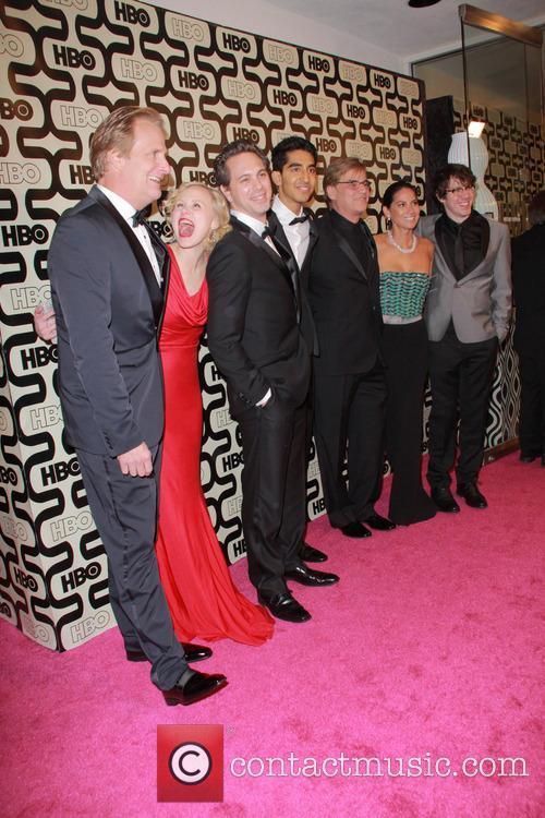 Jeff Daniels, Arison Pill, Dev Petal, Aaron Sorkin, Olivia Munn and Beverly Hilton Hotel 4