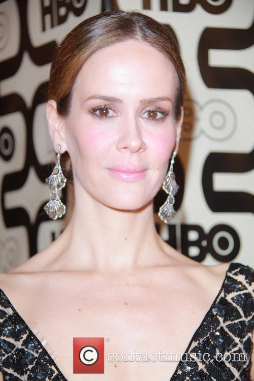 Sarah Paulson and Beverly Hilton Hotel 3