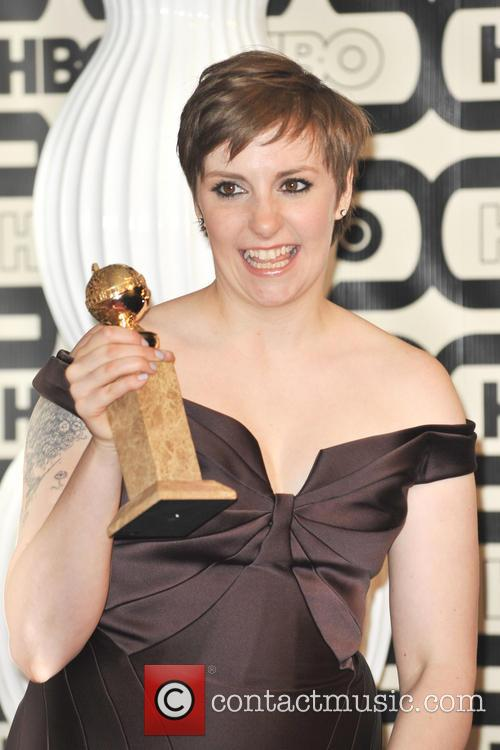 Lena Dunham and Beverly Hilton Hotel 11