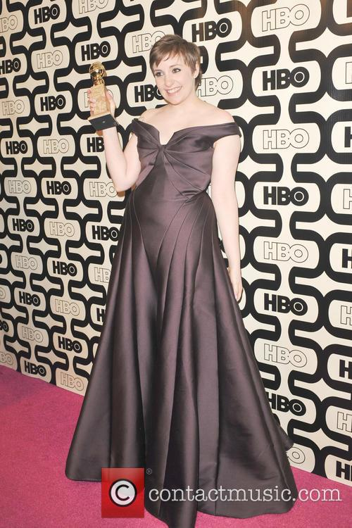 Lena Dunham and Beverly Hilton Hotel 10