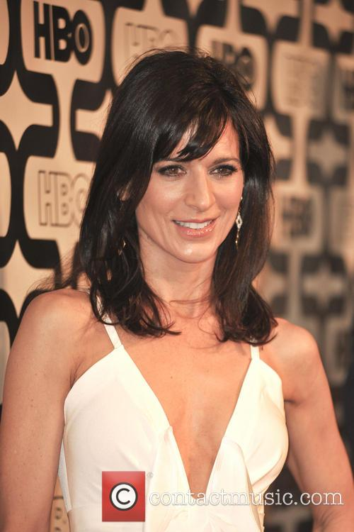 Perrey Reeves and Beverly Hilton Hotel 11