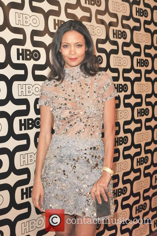Thandie Newton and Beverly Hilton Hotel 7