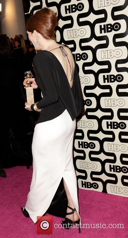 Julianne Moore, Beverly Hilton Hotel