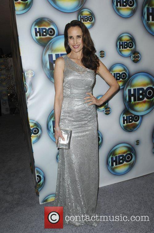 Andie Macdowell and Golden Globe 6