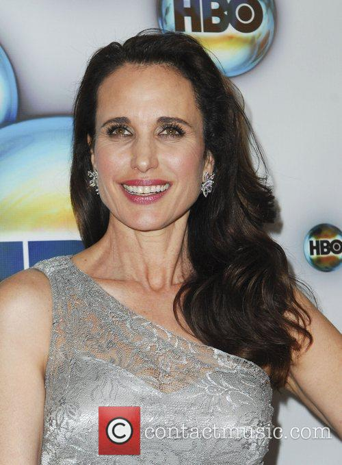 Andie Macdowell and Golden Globe 7