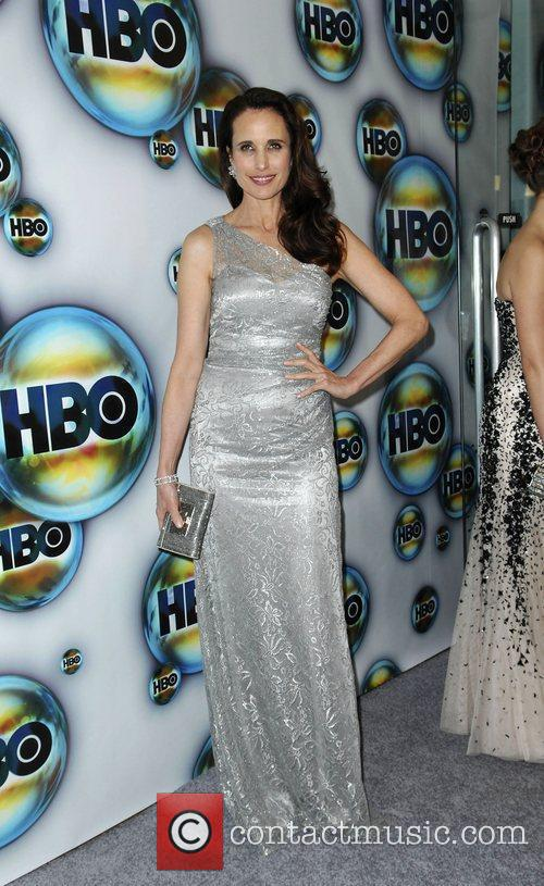 Andie Macdowell and Golden Globe 8