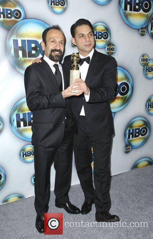 Asghar Farhadi, guest  The 69th Annual Golden...