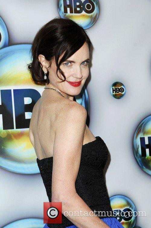 Elizabeth Mcgovern and Golden Globe 2