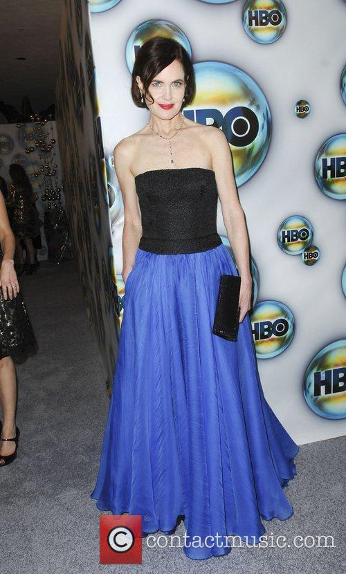 Elizabeth Mcgovern and Golden Globe 3
