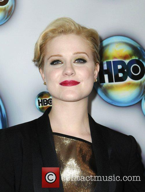Evan Rachel Wood and Golden Globe 3